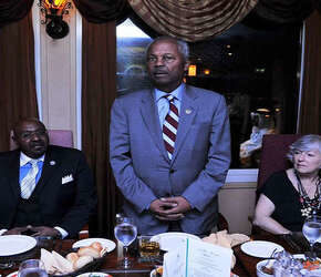 Late-Congressman-Payne-Sr.-Congresswoman-Lynn-Woolsey-at-the-dinner-hosted-by-Dr.-Khalafalla-in-Bahrain