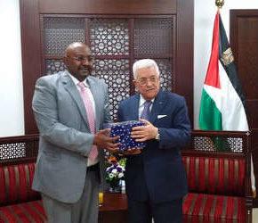 Palestinian-President